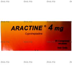 ARACTINE, 4 MG, Boîte de 30 - Medicament