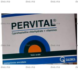 PERVITAL Comprimé, , Boîte de 20 - Medicament