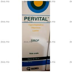 PERVITAL Sirop, , Flacon de 125 ml - Medicament